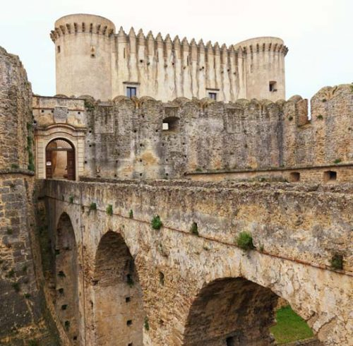 castle of santa severina calabria italy